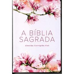 BIBLIA ACF CAPA ESPECIAL ROSA FLORAL