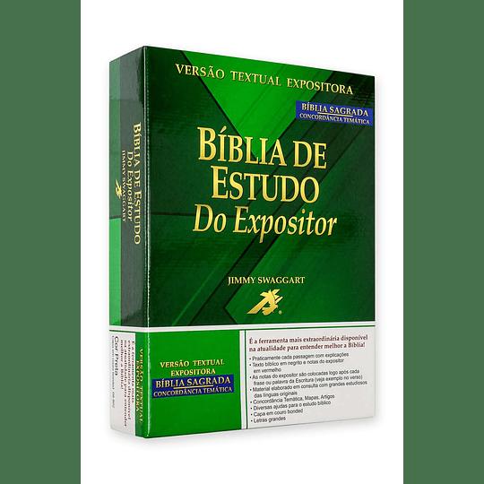 BÍBLIA DE ESTUDO DO EXPOSITOR | BORDÔ (BE087EJS)