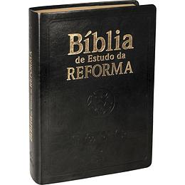 Bíblia de estudo da reforma Capa cor preta