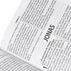 Bíblia Sagrada com letra gigante Capa tricolor, beiras prateadas e índice digital