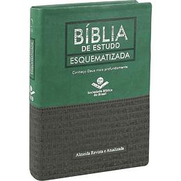 Bíblia de estudo esquematizada Capa flexível