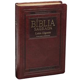 Bíblia Sagrada letra gigante com índice digital