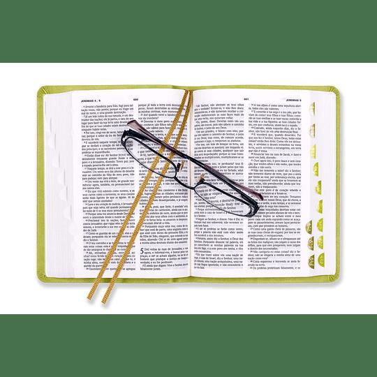 Bíblia Sagrada Verde Claro