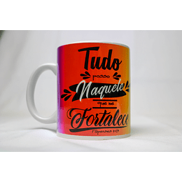 Caneca Filipenses 4:13 / Fé