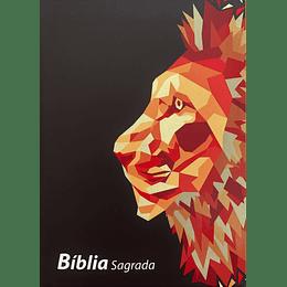 BÍBLIA ARC – CAPA LEÃO (PRETA)