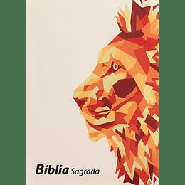 BÍBLIA ARC – CAPA LEÃO (BRANCA)