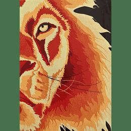 BÍBLIA ARC – CAPA LEÃO (DOURADA)