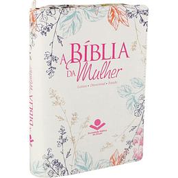 BÍBLIA DE ESTUDO DA MULHER | C/FECHO