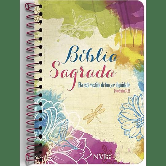 Bíblia Sagrada NVI Anote: Espiral Provérbios 31:25