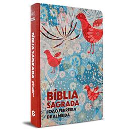 Bíblia Sagrada Letra Grande  Borda Pássaros