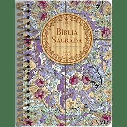 Bíblia Sagrada Anote NVI Capa espiral Cálamo e Canela