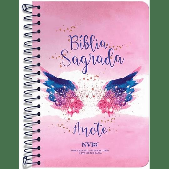Bíblia Anote NVI espiral - Asas do pensamento