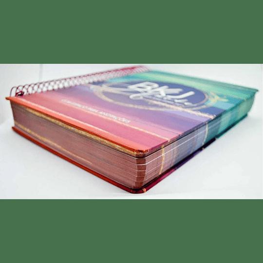 Bíblia King James 1611 Anote Espiral Colors