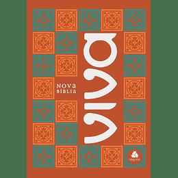 "Nova Bíblia Viva Capa brochura ""Laranja"""