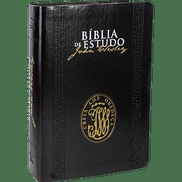 BÍBLIA DE ESTUDO JOHN WESLEY | PRETO (NA085BEJW)