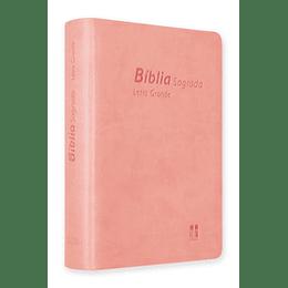 Bíblia DN 64LG com capa rosa