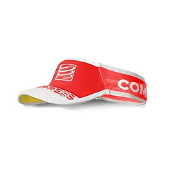 Visera Ultralight V2 Compressport - Rojo