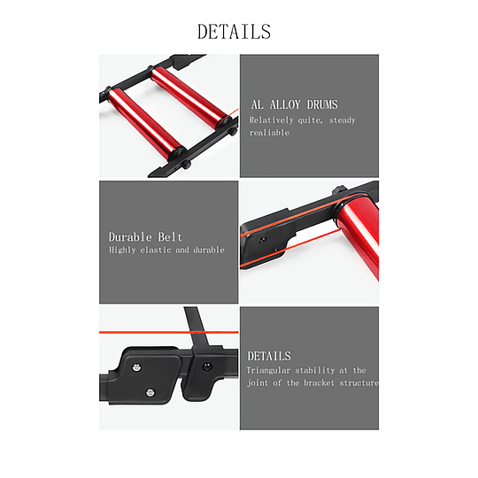 Rodillo de Entrenamiento Bike Roller Deuter (PREVENTA - Disponible fines de Marzo)