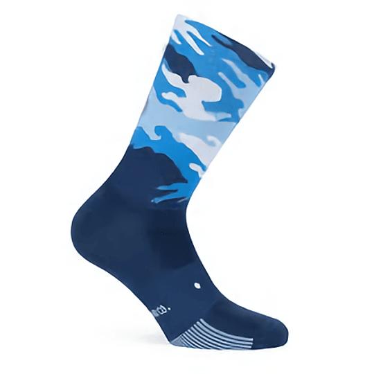 Socks Camo Blue Pacific &Co
