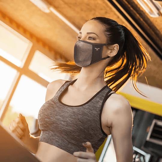 Mascara deportiva extra respirable N0U