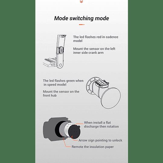 Sensor de Cadencia y Velocidad Magene Gemini 210
