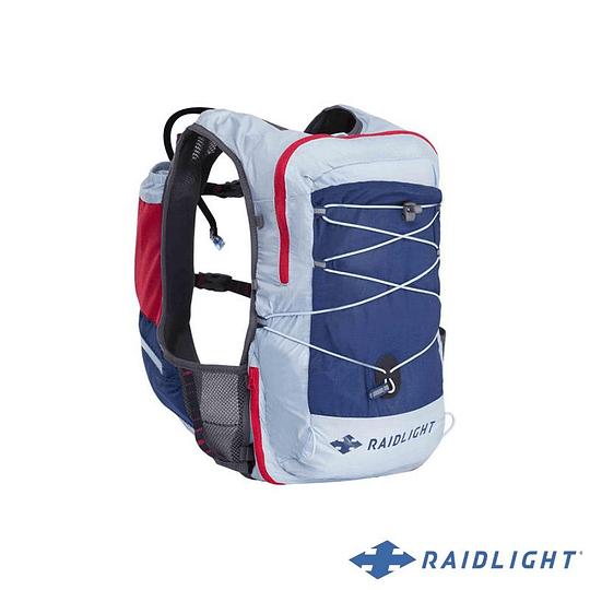 Chaleco de Hidratación ACTIV VEST 12L RED/LIGHT BLUE - RAIDLIGHT