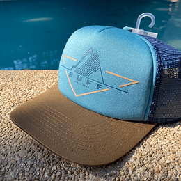 Trucker Cup Buff - Brak Stone Blue