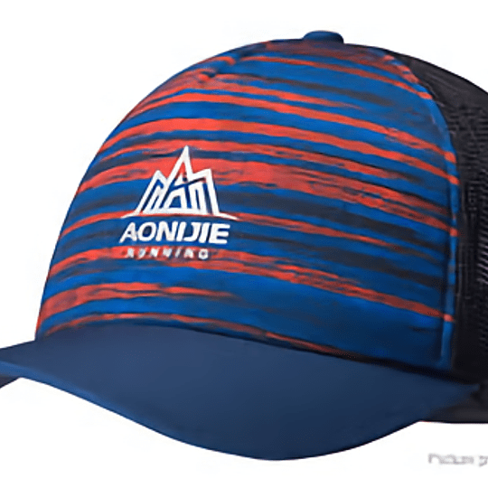 Trucker Cup Red/Blue -  Aonijie