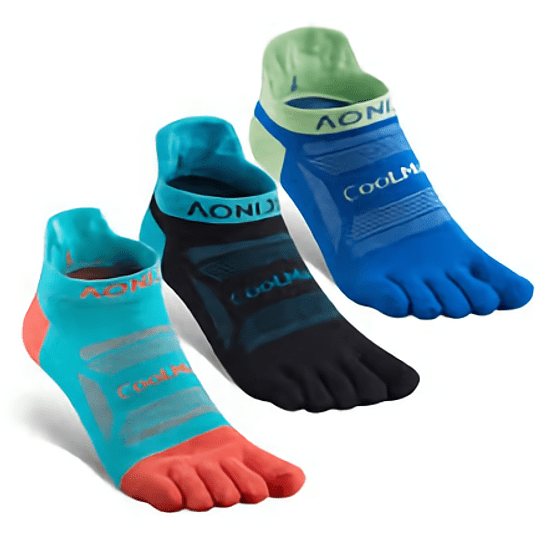 Socks D2 Trail Coolmax short - Aonijie