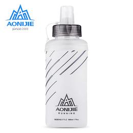 Botella Soft flask 420 ml CLEAR