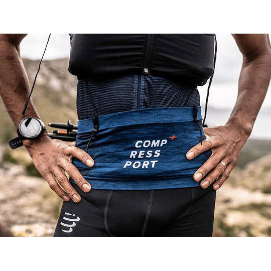 Free Belt Pro Compressport Blue - NEW