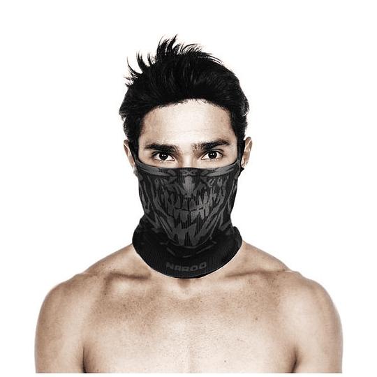 Mascara Deportiva Reversible Con Cuello X5 - Calavera