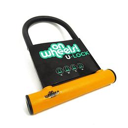 Candado U-Lock Onwheels Corto - Naranjo