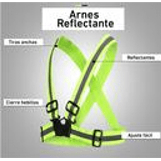 Chaleco Arnes Reflectante
