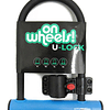 Candado U-Lock Onwheels Corto con Sporte - Colores