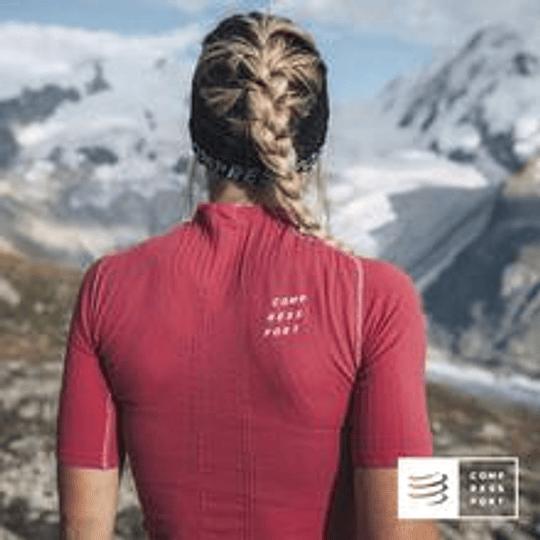 Trail postural SS Top Garnet Women - Compressport