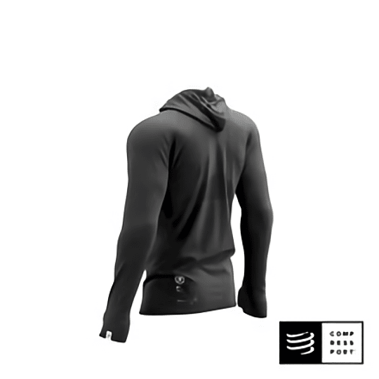 3D Thermo Seamless Hoodie Zip - Black Edition 2021