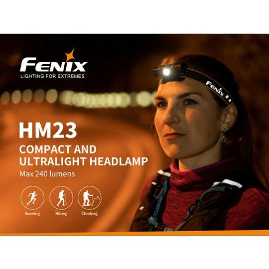 Linterna HM23 Fenix - 240 lúmenes