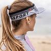 Visera Ultralight Grey Melange - Compressport