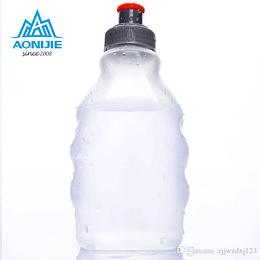Botella plástica rigida hidratación 250 ml