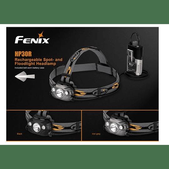 Linterna frontal HP30R Fenix - 1750 lúmenes