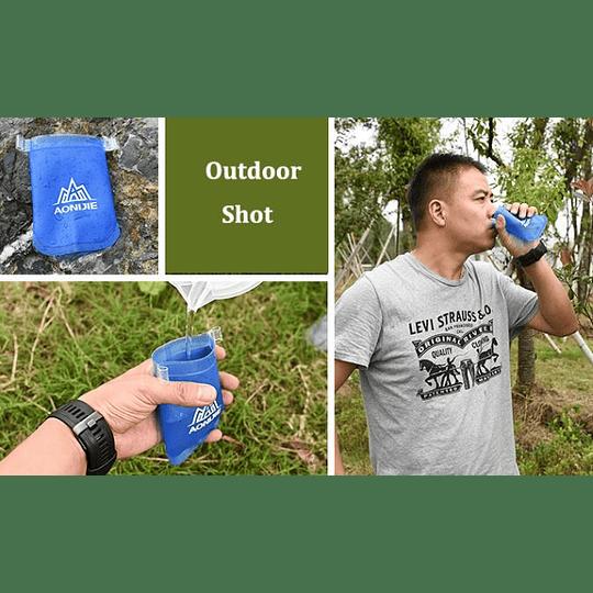 Vaso de Agua reutilizable 170 ml Aonijie