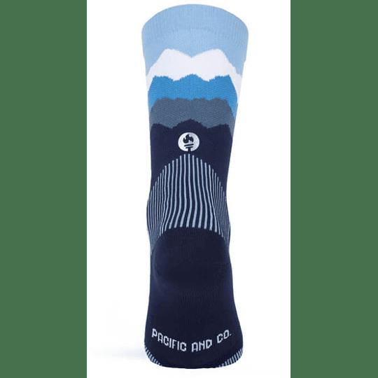 Socks Les Alpes Blue