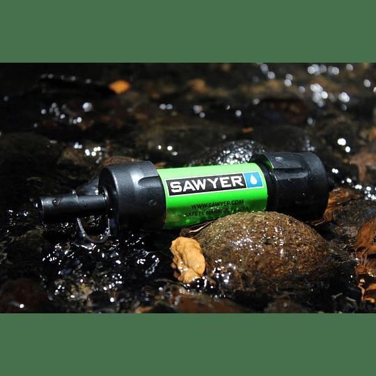 Filtro purificador de Agua Mini Sawyer