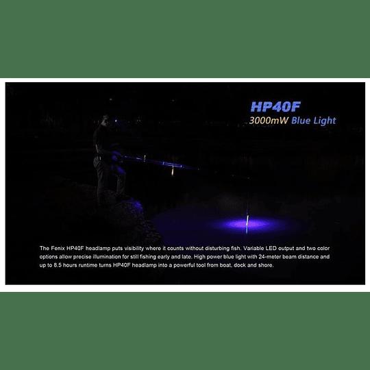 Linterna frontal HP40F Fenix - 450 lúmenes