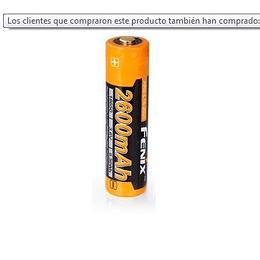 Batería  de 2600 mAh modelo 18650 - Fenix