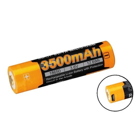 Batería  de 3500 mAh modelo 18650 - Fenix