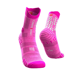 Calcetín Trail High V3 Pink Melange - NEW
