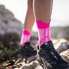 Calcetín Trail High V3 Pink Melange - NEW