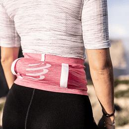 Cinturon Free Belt Pro Compressport Pink/Melange - NEW